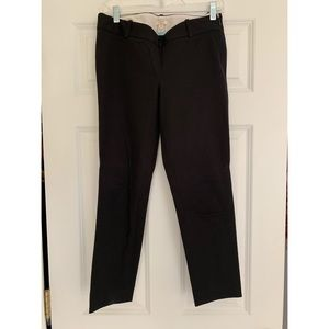 J. Crew Black Cropped Chino Pants